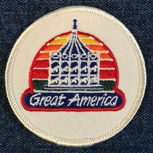 Great America embroidered souvenir patch